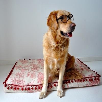 cama para perros hecha a mano