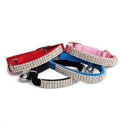 collar para perro de brillantes