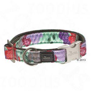collar para perro de flores