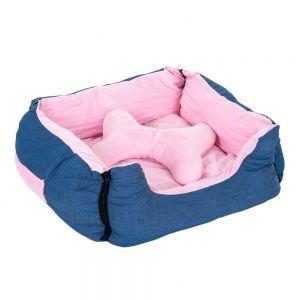 cama para perros reversible