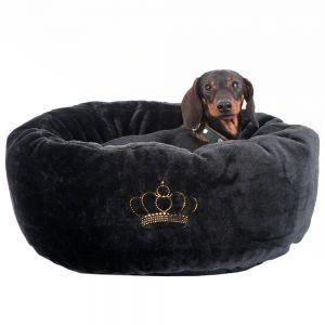 cama de terciopelo para perro