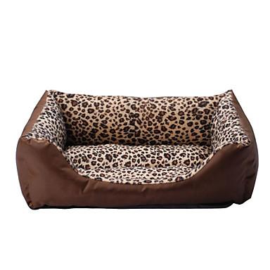 cama para perros de leopardo