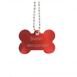 placa identificativa para perro