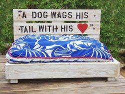 camas para perro de palets