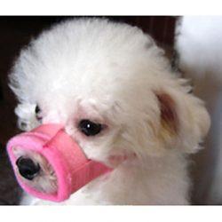 bozal de velcro para perro
