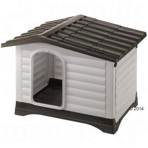 caseta para perro de exterior de plástico