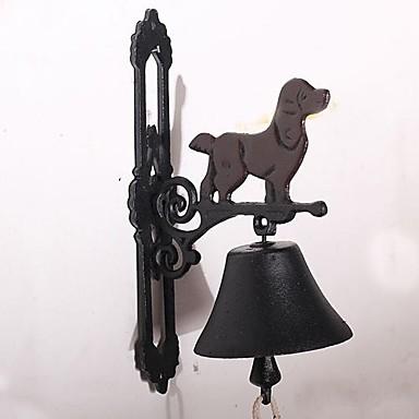 campana puerta perro