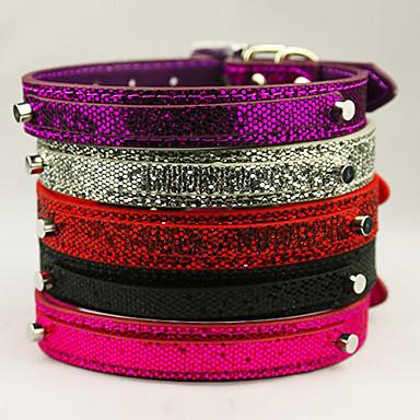 collar para perro de purpurina