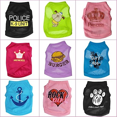 camisetas para perros
