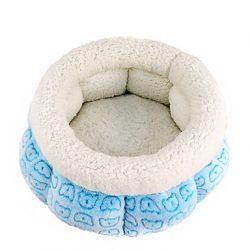 cama para perros redonda