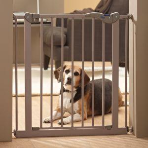 barrra para puerta para perro
