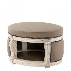 caseta para perro de interior de lujo de estilo barroco