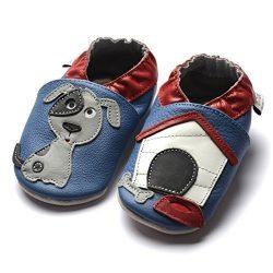 zapatos de gateo para bebés muy perrunos