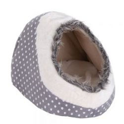 cama cueva para cachorros