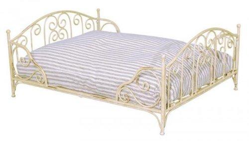 cama metálica para perros