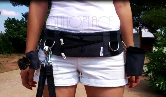 cinturón manos libres para pasear perros