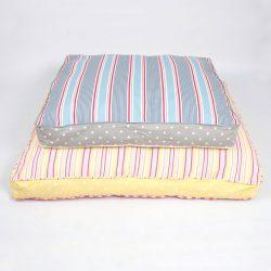 cama para perro hecha a mano