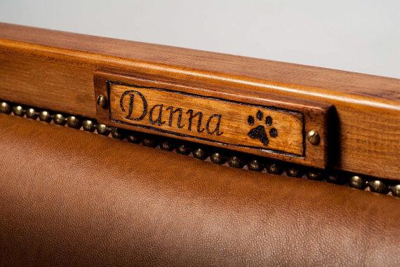 sofá de lujo para perros
