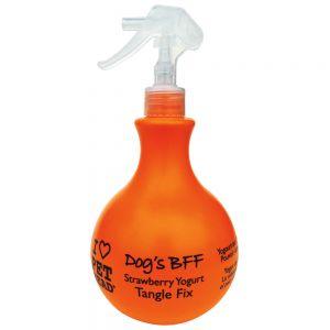 champú desenredante para perros