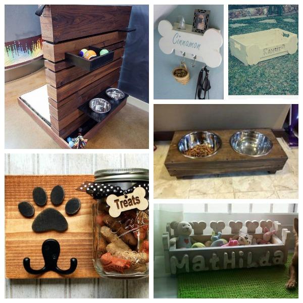 muebles de palets para perros