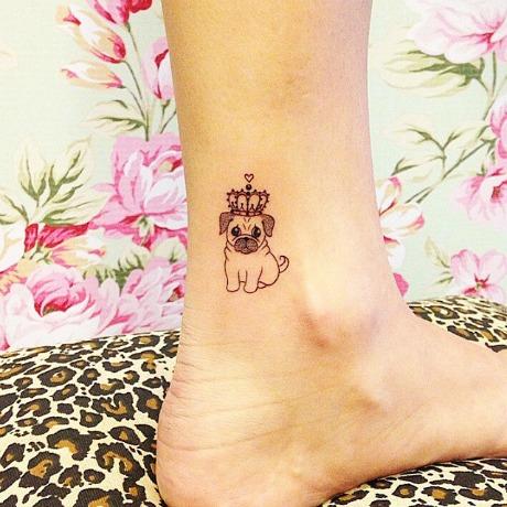 tatuaje perro