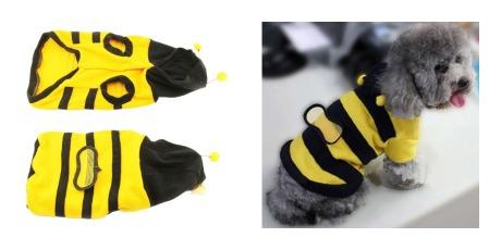 disfraz de abeja para perro