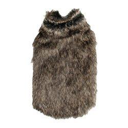 abrigo para perro de piel