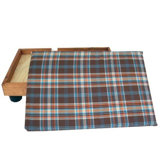 cama de madera para perro