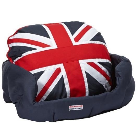 cama para perro de estilo británico