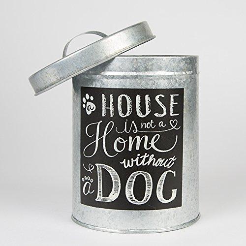 bote de galletas para perros