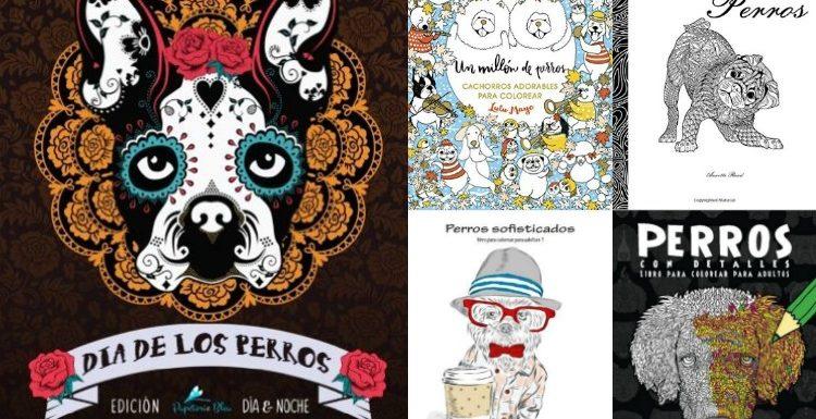 colorear mandalas de perros