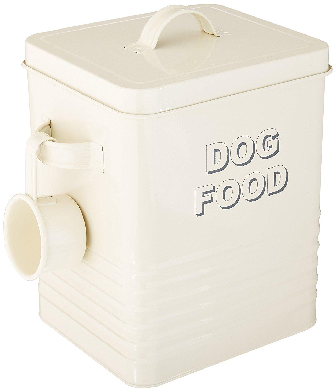 contenedor de alimento seco para perros