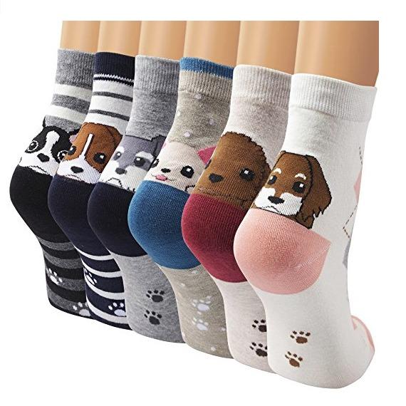 calcetines con perros