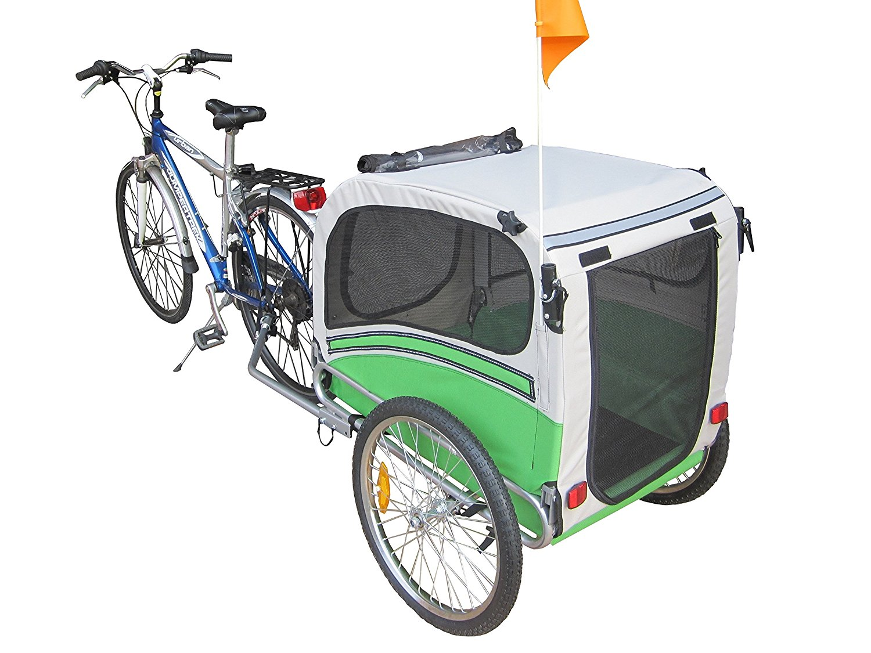 remolque para perros para bicicleta