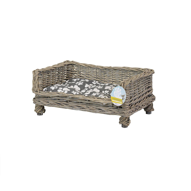 camas de mimbre para perros